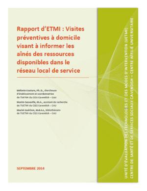 ETMISSS_Rapport visites preventives_ETMI CSSS-Cavendish-CAU_2014_FR